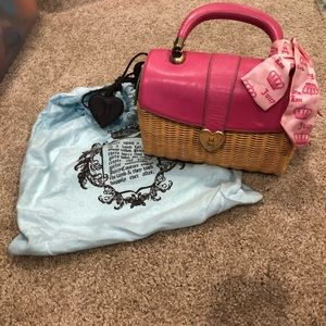 Juicy Couture :: Vintage straw bag